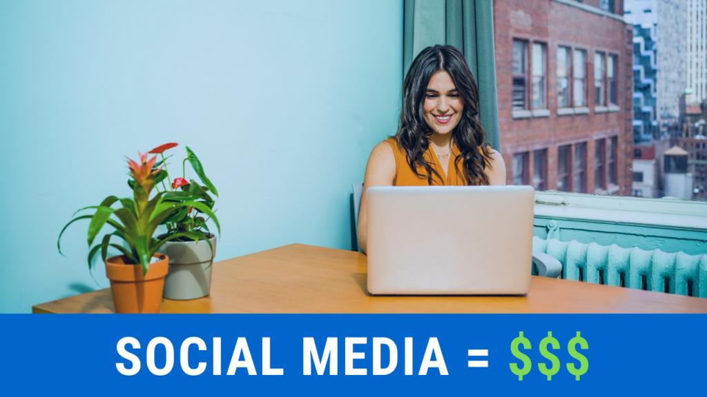 Make money on social media.