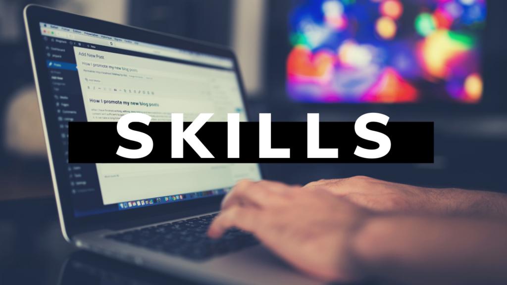 A set of skills that freelance writer should master