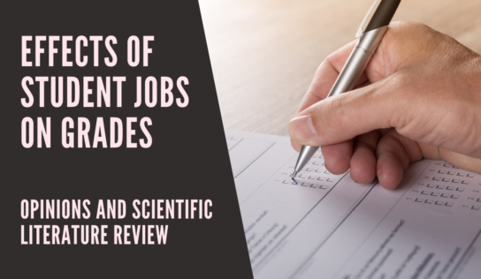 The Effects of Part-Time Jobs on Grades