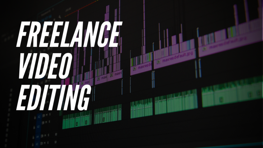 Make money by editing videos as a freelance video editor.