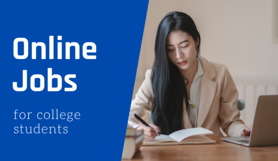 10 Best Online Jobs for College Students