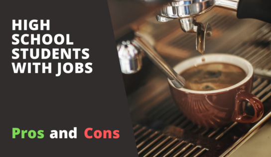 Pros and Cons of Holding a Job While in High School