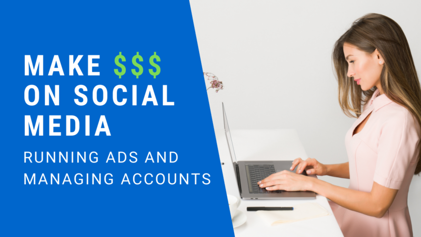 Learn how to become a social media manager and make money using social networks.