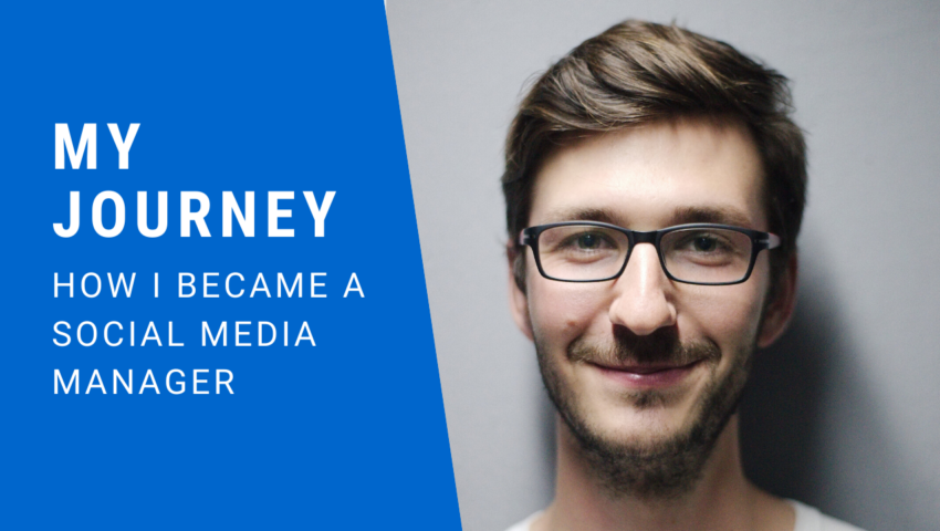 My journey: How I became a freelance social media manager.