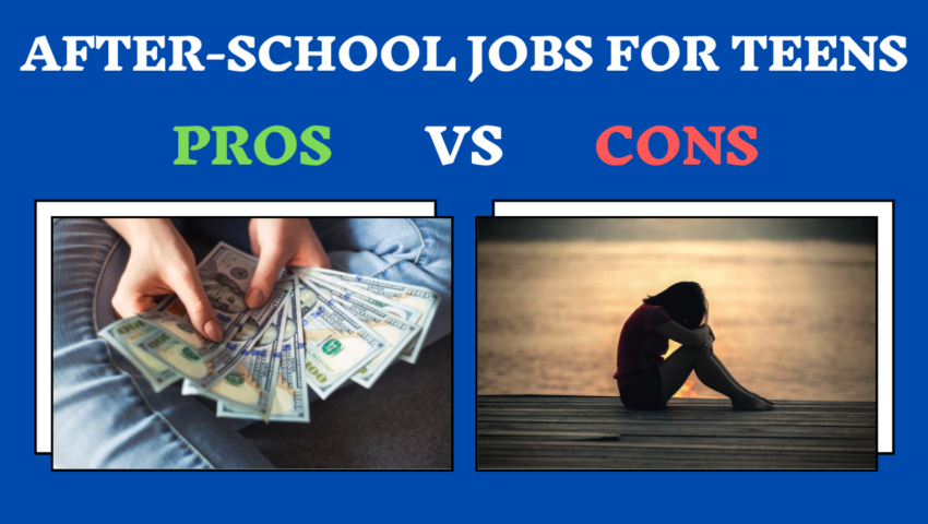 After-school jobs for teens: pros and cons