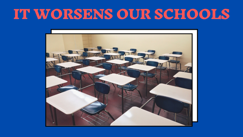 Free education worsens our schools.