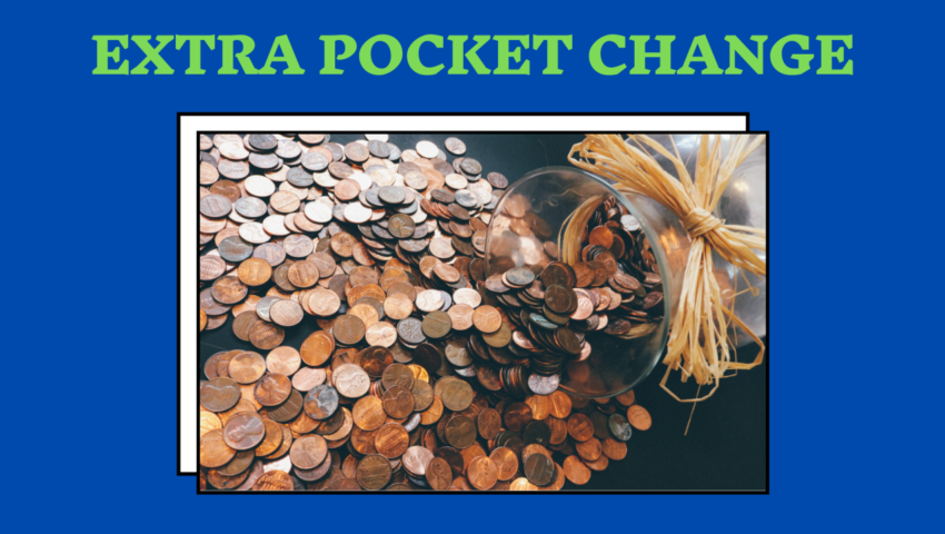 One of the best benefit of working while in high school: you earn extra pocket change.