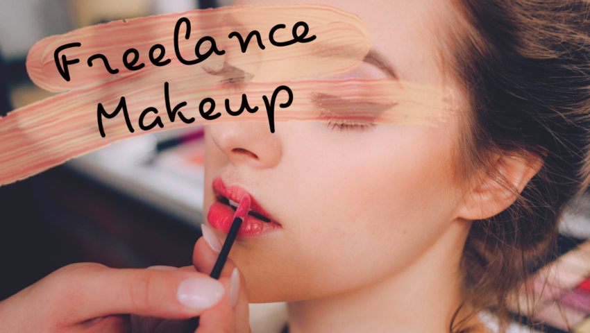 A guide on how to become a freelance makeup artist.