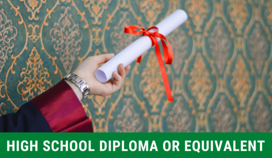 "What ""High School Diploma or Equivalent"" Means"