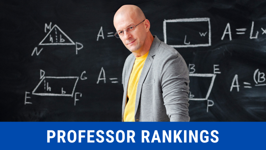 Professor rankings: an overview of academic ranks