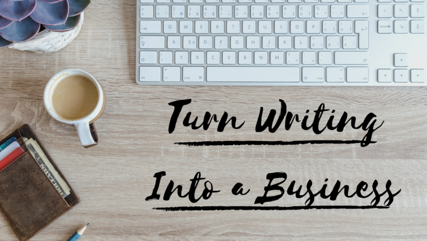 Turn freelance writing into a business and make money writing online.