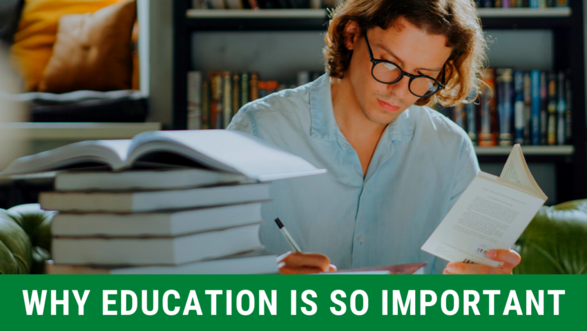 Education Is Important: 6 Reasons to Stay in School!