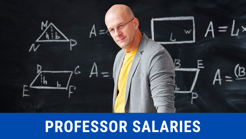 Professor Salaries: By Academic Rank, Major, and State