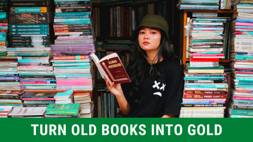 Learn how to recycle old books: best ways!