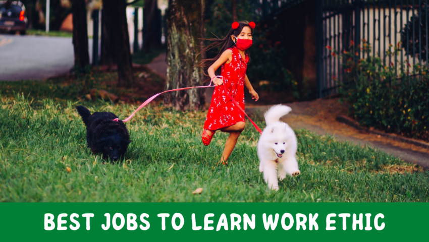 Best jobs for 12-year-olds to learn work ethic.