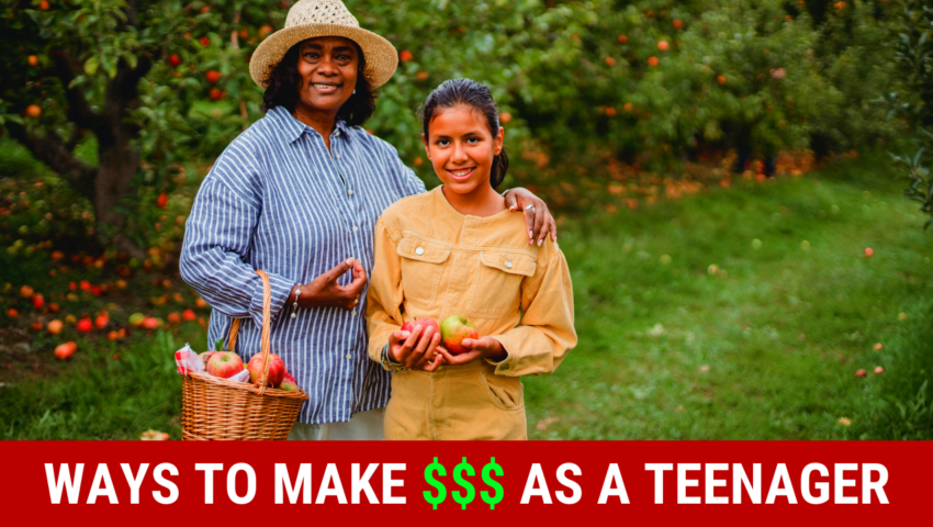 How to make money as a teenager with these jobs.